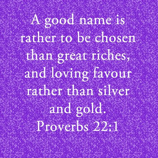 Proverbs 22 1